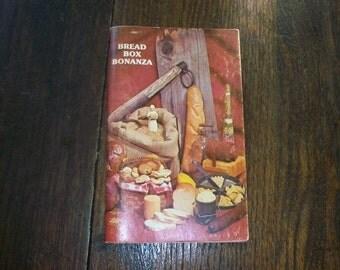 Vintage Bread Baking Cookbook Bread Box Bonanza