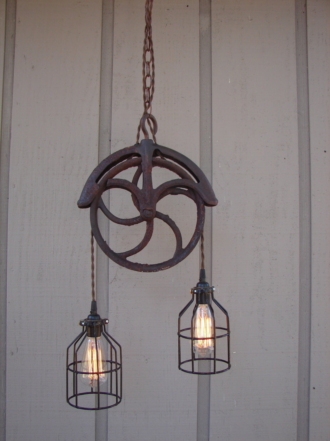 Pulley Light Fixtures