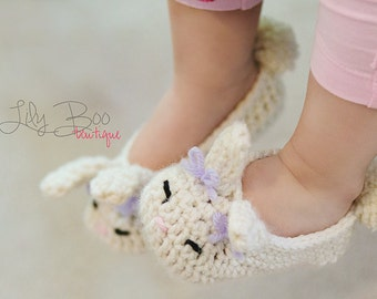 Bunny Boo toddler to child size in custom colors