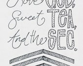 Love God, Sweet Tea, & the SEC sketch