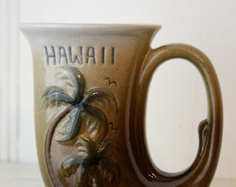 Vintage Hawaiin Mug Island Java Coffee Mug