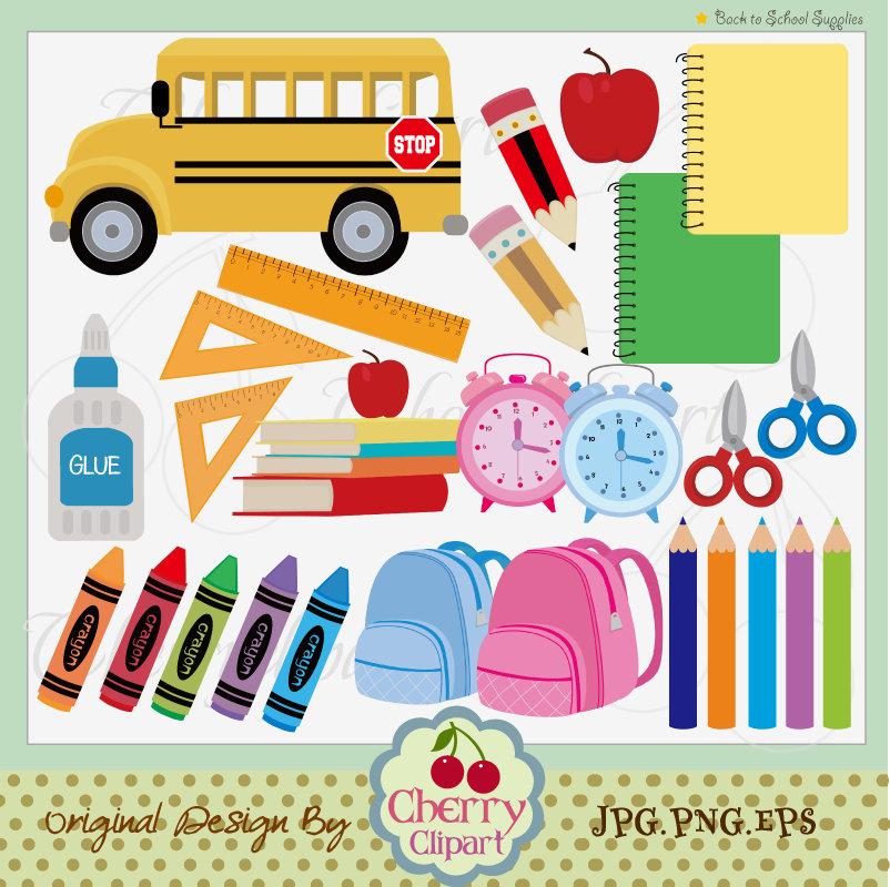 clipart school supplies - photo #32