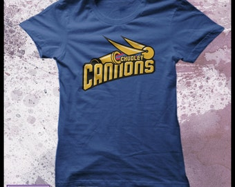 Harry Potter Chudley Cannons t-shirt women's