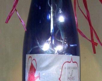 Lighted Bottle for Mom
