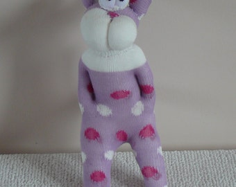 Plush Sock Animal - Sid, Plush animal,sock animal,sock doll,stuffed animal,sock creature,CE, toy, children, animal,uk,monster,alien