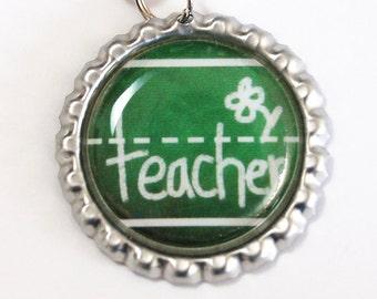 Teacher Bookmark, bookmark, book mark, Shepherd Hook, gift for teacher, teacher, Back to School (2493)