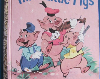 Little Golden Book, Disney's The Three Little Pigs