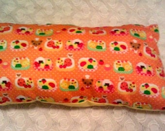 Cute Novelty Pillow (Orange)