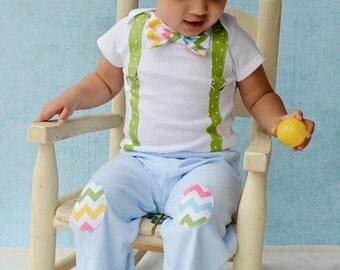 items similar to baby boy bow tie bodysuit