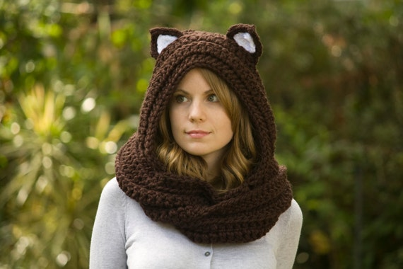 Crochet Pattern Hooded Scarf With Ears : Crochet Hooded Scarf With Ears www.imgarcade.com ...