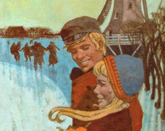Hans Brinker or The Silver Skates by Mary Mapes Dodge, illustrated by Dennis A. Dierks, cover by Don Irwin