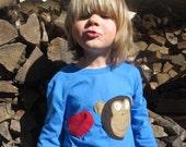 Love Monkey  Valentine's Boys T -Shirt