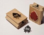 Homemade House stamp