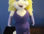 Miss Piggy Inspired Crochet Pattern