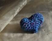 BJD MSD doll accent accessory heart pillow Am I Blue?