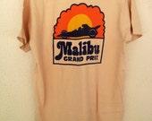Rare Vintage Malibu Grand Prix Shirt