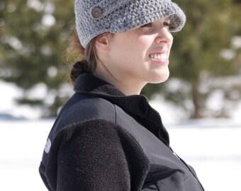 Adult Newsboy Cap -Woman's Newbsoy Hat