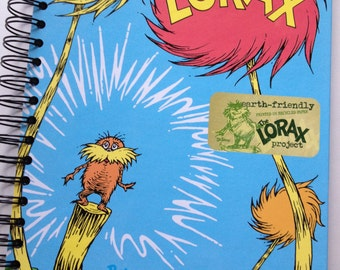 The Lorax Dr. Seuss Recycled Journal Notebook