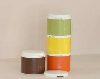 Tupperware Stacking Spice Shakers