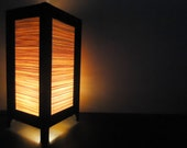 Asian Oriental Design Bamboo Art Bedside Floor or Table Lamp or Bedside Paper Light Shades Furniture Home Decor