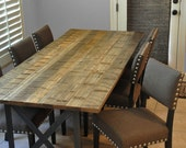 the SPANN Dining Table -  Reclaimed Wood Dining Table