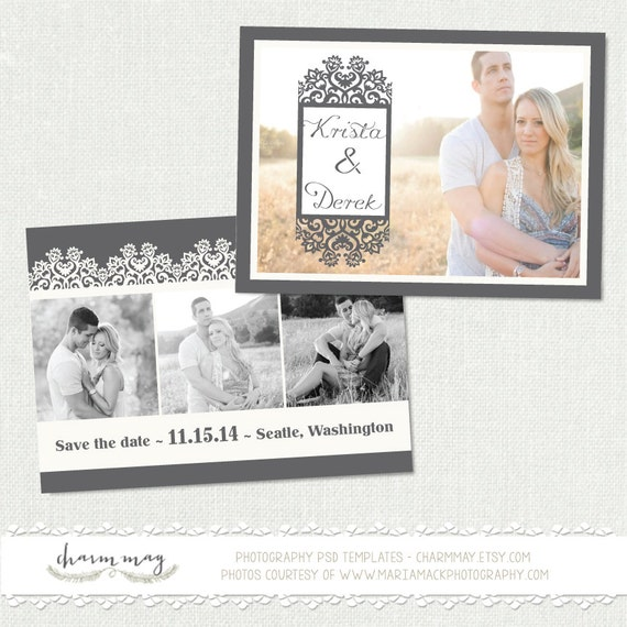 save the date templates free download - instant download save the date card template by charmmay