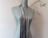 "Necktie - ""Monochrome Weave Pattern"" (horizontal)"