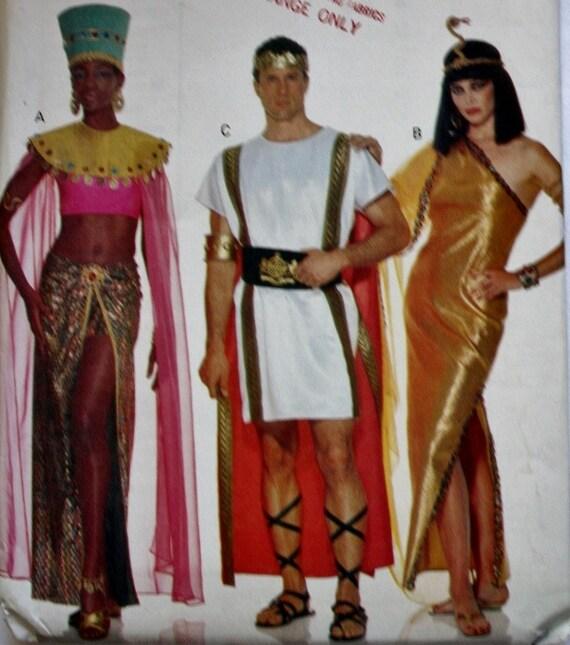 Butterick 3587 Men's And Women's Cleopatra Queen of