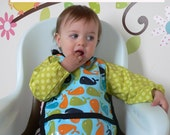 PDF baby graybee long sleeve bib sewing PATTERN and TUTORIAL size 6-18 months