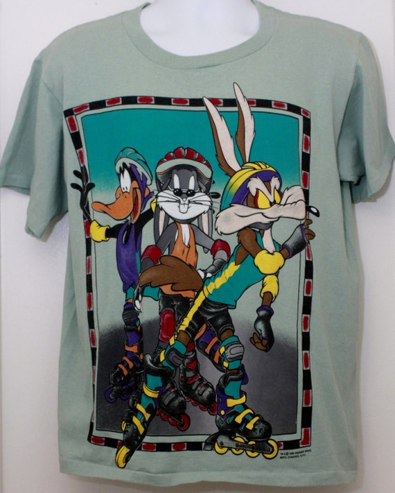 90s vintage looney tunes t shirt sz large