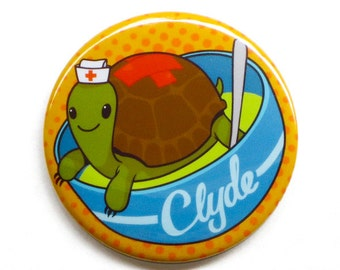 "Elementary Button // Clyde Soup 2"" Pinback Button // Sherlock Button"