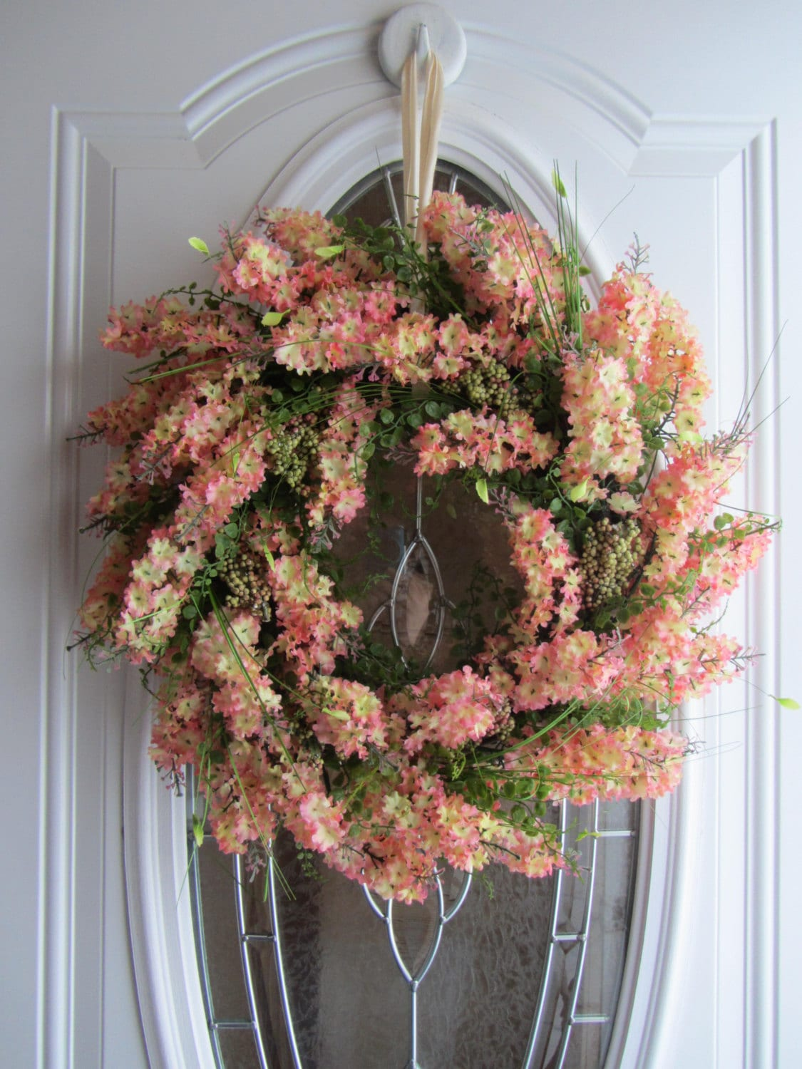 Spring Wreath Summer Wreath Front Door Wreath Spring