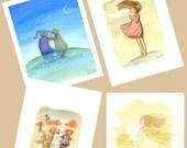 Childrens Wall Art Print - Any 5 x 7 Giclée print