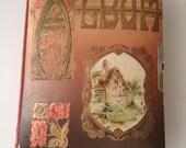 Photo Album Victorian Era / Vintage Books by FeistyFarmersWife