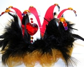 Queen of hearts, crown, Alice in wonderland, house of cards, Fascinator or Hat.