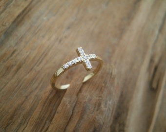 Sideways cross ring.....