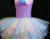 Baby girls Easter tutu dress with headband set - Infant to Girls 8