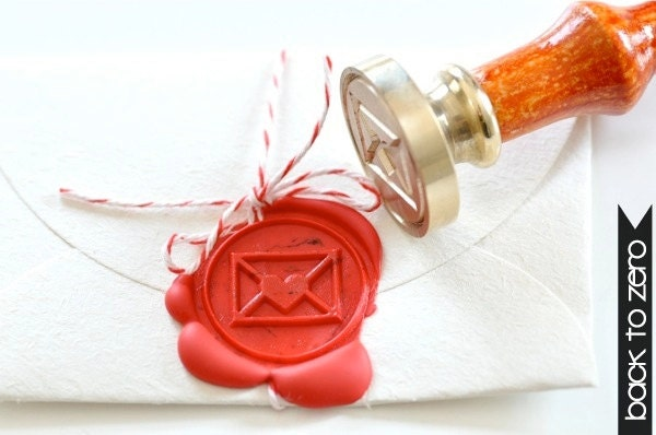 B20 Wax Seal Stamp Love Letter