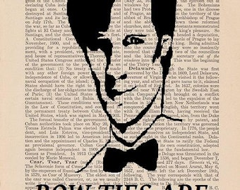 Doctor Who Art: Bow Ties Are Cool (Antique Dictionary Art Print)