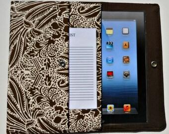 iPad, iPad2, iPad3 Case / Cover / Sleeve padded (READY TO SHIP) - Wheat