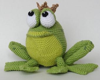 Amigurumi Crochet Pattern - Henri le Frog