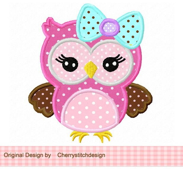 Applique Pictures Of Owls 93