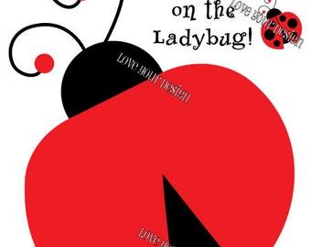 Ladybug Pin the Spots On Game printable digital jpeg files INSTANT DOWNLOAD