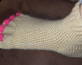 Hilarious Pedicure Toe Slippers crochet pattern-PDF
