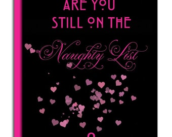 Naughty List Valentine's Day Card