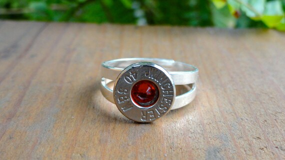 Ammo Jewelry Winchester 40 Cal Ring
