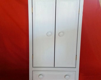 Doll Armoire, Closet,Wardrobe for your American Girl doll or any 18 inch doll