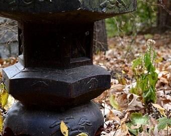 Japanese Stone Garden Lantern, Saint Paul, MN - 8 x 10 Print