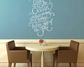 Cross The Ocean - Wall Decal - Medium