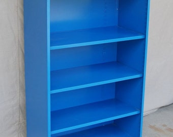 Vintage Metal Bookcase - 1970's